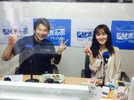 鹿児島ラジオ FMぎんが 「MUSECA♪STYLE」 出演時 おそうじ本舗鹿児島西田店 2015年3月