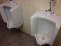 店舗トイレクリーニング 小便器 堆積した尿石