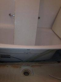 浴室クリーニング エプロン内クリーニング