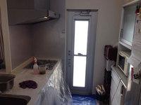 キッチン・レンジフードクリーニング 作業中