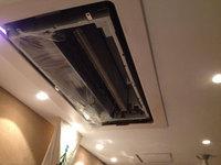 業務用エアコンクリーニング 天井埋め込み型1方向タイプ 分解中