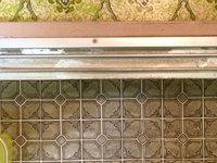 在宅戸建て4LDKまるごとおそうじ 浴室クリーニング ドアレール水垢