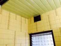 在宅戸建て4LDKまるごとおそうじ 浴室クリーニング 天井・換気扇クリーニング中