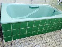 在宅戸建て4LDKまるごとおそうじ 浴室クリーニング タイル水垢除去後