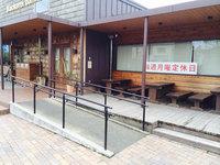店舗定期クリーニング 外観 ショーウィンドウガラス・出入り口清掃クリーニング