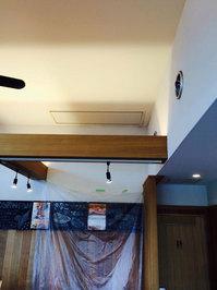 店舗業務用エアコンクリーニング 天井埋め込み型大型ダクトタイプ1