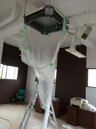 業務用4方向エアコンクリーニング 洗浄作業完了