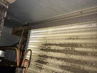 家庭用天井埋め込み型ダクトエアコン クリーニング 熱交換器
