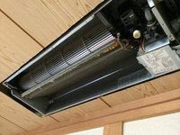 家庭用天井埋め込み型エアコン クリーニング