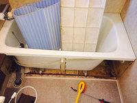 浴室クリーニング エプロン内汚れ