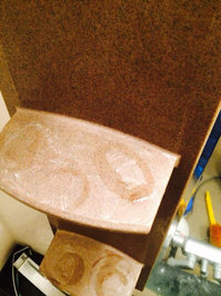 浴室石鹸カスと水垢