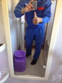 浴室鏡の水垢取りサービス 鹿児島県日置市 作業後