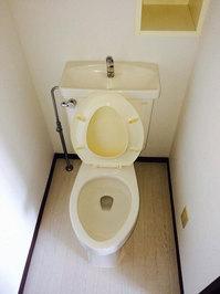 4LDKマンションまるごとおそうじパック トイレクリーニング 鹿児島市