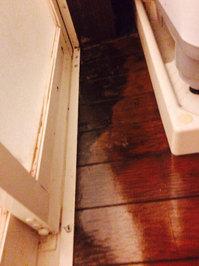 浴室周りクリーニング 汚れハードクラス 浴室周辺フローリングワックス完了 鹿児島市