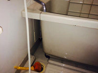 浴室、洗面所クリーニング エプロン内部洗浄 鹿児島市