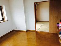 マンション 入居前空室簡易清掃 リビング 鹿児島市