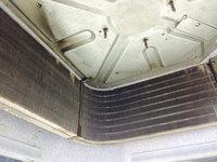美容室店舗ワックスと業務用エアコンクリーニング 4方向天カセタイプ 熱交換器洗浄完了 鹿児島市