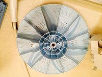 洗濯槽クリーニング 東芝DDインバーター パルセーター洗浄完了 鹿児島市東谷山方面