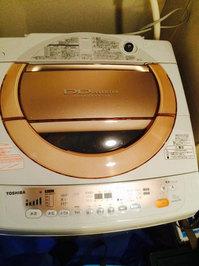 洗濯槽クリーニング 東芝DDインバーター 鹿児島市東谷山方面
