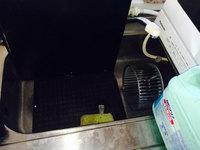 家庭用換気扇レンジフードクリーニング シロッコファン洗浄中