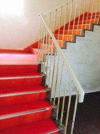 マンション定期清掃 内階段 鹿児島市