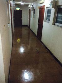 5階建てマンション 定期ワックス 内廊下 鹿児島市