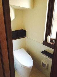 戸建 トイレクリーニング 作業完了 鹿児島市中山