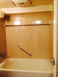 浴室クリーニングと天井防カビコーティング他 浴室クリーニング作業完了 分譲マンション 鹿児島市田上方面