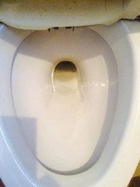 浴室トイレ清掃クリーニングと、浴室防カビコーティング トイレ作業前  戸建20年以上 鹿児島市喜入町方面 おそうじ本舗鹿児島西田店
