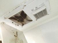 浴室清掃クリーニングのセット 鹿児島市谷山方面 乾燥機のカビ汚れ おそうじ本舗鹿児島西田店