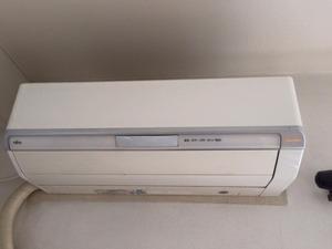 おそうじ機能付きロボットエアコン 分解洗浄クリーニング2台 富士通 鹿児島市内