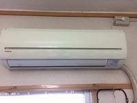 家庭用エアコンクリーニング2件 鹿児島市内のお客様 おそうじ本舗鹿児島西田店 日立スタンダードエアコン1