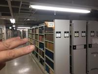この3列を攻めます 鹿児島大学付属図書館 書籍カビ除去クリーニング