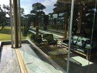 指宿白水館 エントランス大型窓ガラス 年末恒例 指宿白水館ホテル 全窓定期清掃クリーニング