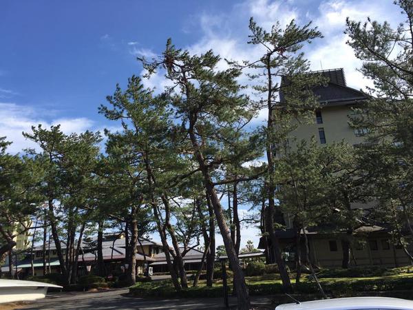 指宿白水館 素晴らしい景色 年末恒例 指宿白水館ホテル 全窓定期清掃クリーニング