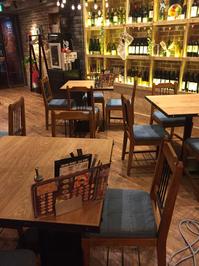 定期 ピザとワインのお店 店舗ワックス 厨房クリーニング 鹿児島市天文館方面④