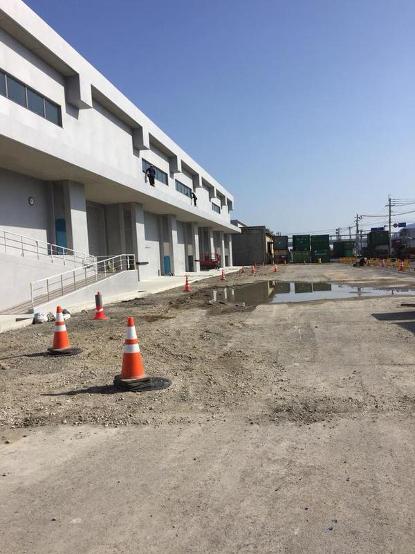 (大規模)竣工美装全4日間完了 大規模コンテナ集積場 まとめ 鹿児島市①